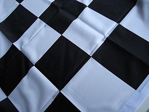 chwarz / Weiß kariert, groß (Schwarz Und Weiß-race Flag)