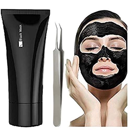 Masque facial FaceApeel Blackhead Remover, Kit trousse à décolleté noir, Masque épluché, Masque noir activé Démaquillant Blackhead Peel Démaquillant pur visage en peau de peau