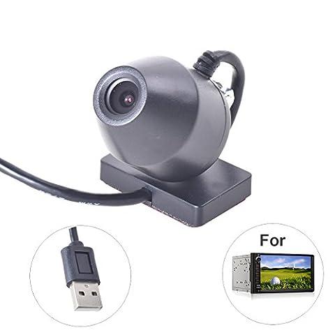 Dashcam Port USB DVR Caméra Enregistreur de Conduite pour Android Autoradio Stereo Système de Tableau de Bord Voiture Auto