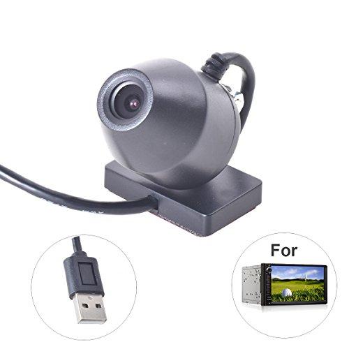 Auto DVR USB Dashcam Kamera 720P 170 Grad-Betrachtungswinkel für Android 4.2 4.4 5.1 GPS Navigation In-Schlag Radio Stereo System (In-car Navigation System)