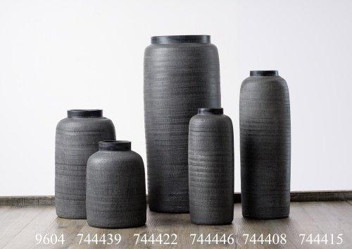 Flirt by Ritzenhoff und Breker Ritzenhoff & Breker Vase Terreno Grau Größe Vase 50 cm Terreno Grau