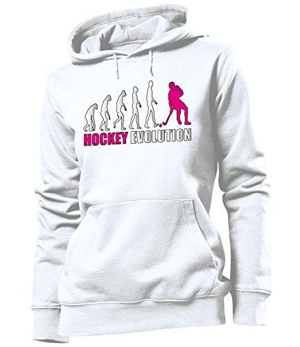 HOCKEY EVOLUTION 618 Damen Hoodie (FKP-Pink) Gr. XL