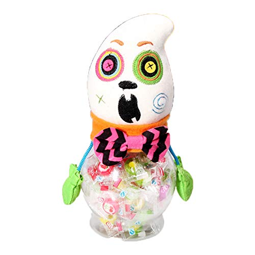 Behandeln Trick Tasche Oder Kostüm - Ouken Schöne Dekorationen Halloween Candy Jar Geschenke Trick oder behandeln Spielzeugpuppe Süßigkeiten Aufbewahrungsbox Dekoration, Geist