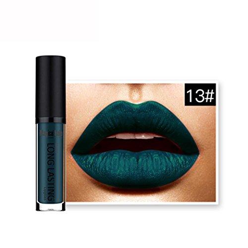 ESAILQ Wasserdichter Matte Liquid Lipstick Langlebiger Lip Gloss Lippenstift