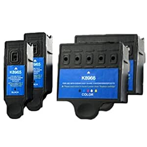 2x Kodak 10 Black & Colour Compatible Ink Cartridges For Easyshare ESP 3 ESP 5 ESP 7 ESP 9 ESP 3250 ESP 3200 ESP 5000 ESP 5200 ESP 5250 ESP 5300 ESP 5500 ESP 7250 ESP 9250 ESP Office 6150 Hero 6.1 7.1 9.1 Printers 10b 10c. VAT RECEIPT WITH EVERY ORDER. FREE DELIVERY!!