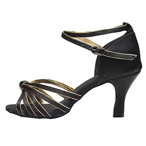 e Damen Training - Mädchen Schuhe Ballsaal Salsa Tango Ferse Moderner Schuh (39 EU) ()