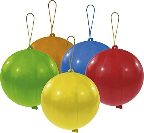 amscan INT995786 Latexballons Punch Balls, farbig Sortiert