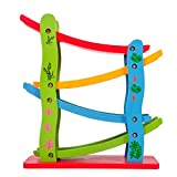 Imported Wooden Car Slider With 4 Cars Kids Children Toys