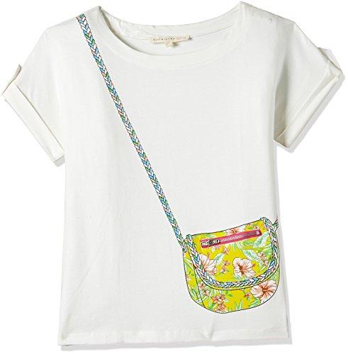 Chemistry Girl Girls' T-Shirt (GA17-405KTTEESSV_Off White_11/12)