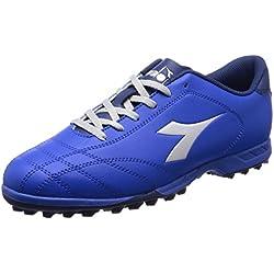 Diadora 6Play TF, Scarpe da Calcio Uomo, Blu (Azzurro Argento DD), 44.5 EU