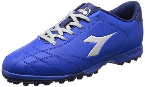 Diadora Herren 6play TF Fußballschuhe Blau (Azzurro Argento Dd)