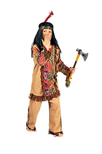 Karneval Klamotten Indianer Kostüm Kinder Junge Kostüm Jungen-kostüm Indianer beige Karneval Kinderkostüm Größe (Indianer Kostüme Navajos)