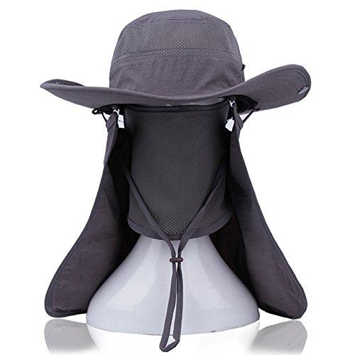 Chapeaux en plein air unisexe/Grand chapeau de soleil/Pêcheur de UV Hat C