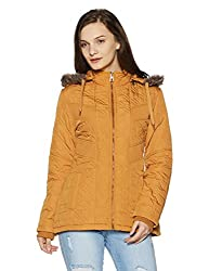 Fort Collins Womens Cape Hoodie (6639 AZ-Yellow_M)