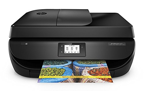 Get HP OfficeJet 4650 AiO Inkjet A4 Wi-Fi Black – multifunctionals (Thermal Inkjet, 1200 x 1200 DPI, 600 x 300 DPI, 1200 x 1200 DPI, A4, 216 x 297 mm) (HP 4650 + Full Compatible Ink Bundle) Online