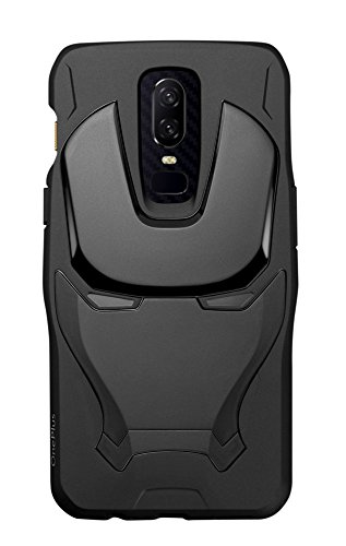 OnePlus Marvel Avengers Iron Man Case for OnePlus 6 (Black)
