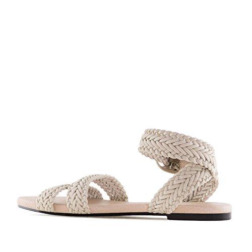 pour grandes Am5280 45 Beige 42 Taglie Andres sandales Tressées Machado Femmes fI1qI6Y