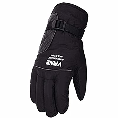 Skifahren Handschuhe Warme wasserdichte Handschuhe Ski Gear Fahrradhandschuhe, 09