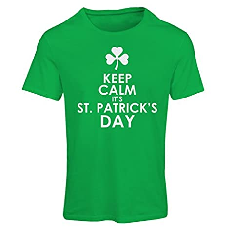T-shirt femme Keep Calm it's St Patrick day (Small Vert Multicolore)