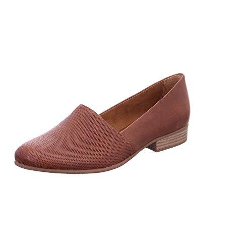 Tamaris 1-24216-20 Damen Slipper Cognac, EU 38 (Braun Schuhe Damen Slipper)