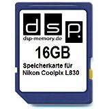 DSP Memory Z-4051557424005 16GB Speicherkarte für Nikon COOLPIX L830