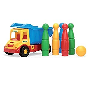 Wader Multi-Truck volquete con Ninepins