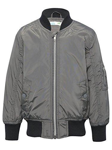 mco-boys-dark-grey-ribbed-jersey-trim-long-sleeve-zip-front-side-pocket-bomber-jacket-grey-3-4-yr