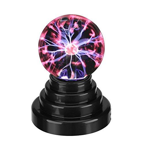 Kreative Kugel Licht Plasma Ball Lampe Licht berührungsempfindlichen Nebel Kugel Kugel Globus Neuheit Spielzeug USB oder batteriebetriebene Party Geschenk Schreibtisch Lampe Schlafzimmer Büro Dekor