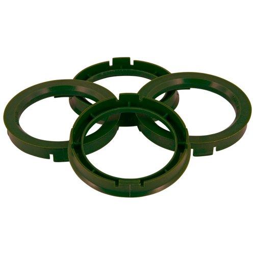 TPI BX7046510-4 Satz Zentrierringe für Radnabe, 70,4-65,1mm, Olivgrün
