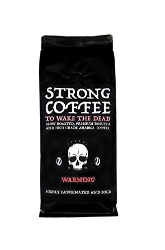 Starker Kaffee - Frisch Geröstet Zombie Kaffeebohnen - 500gr packung in Ganze Bohnen