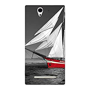 Vintage Ship Back Case Cover for Sony Xperia C3