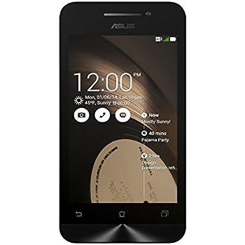 Asus ZenFone 4 A400CXG-1A461WWE Smartphone débloqué 3G (Ecran : 4 pouces - 8 Go - Android 4.3 JellyBean) Noir (import Europe)