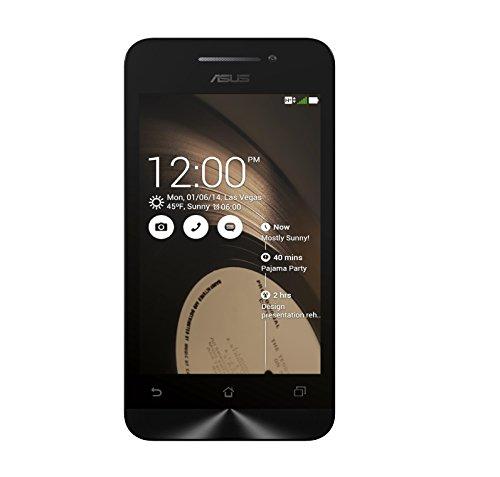 Asus ZenFone 4 Smartphone, RAM 1 GB, Nero [Italia]