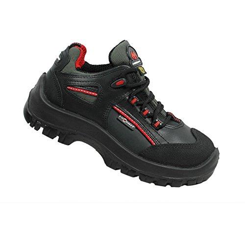 Aimont hamal berufsschuhe businessschuhe eSD s3 sRC chaussures de chaussures de sécurité chaussures de travail noir Noir - Noir
