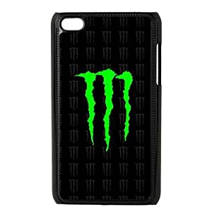Printed Cover Protector Mhecg Monster Energy For Ipod Touch 4 Cell Phone Case Unique Design Cases