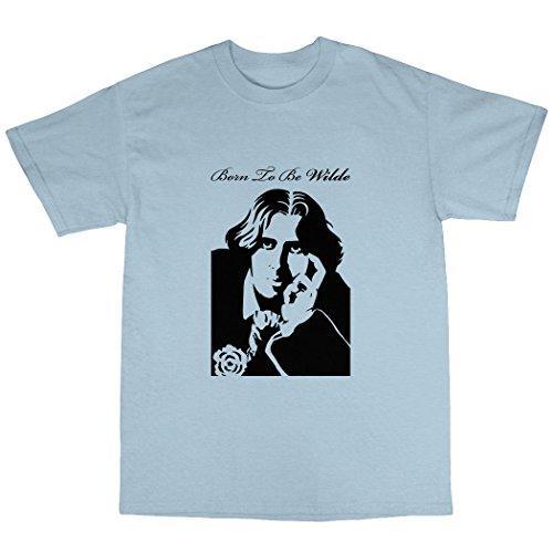 Oscar Wilde T-Shirt in 5 Farben Hellblau