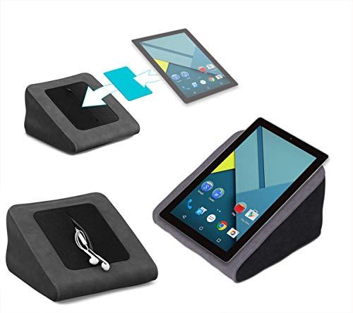 Tablet Kissen für das NextBook Ares 10A - ideale iPad Halterung, Tablet Halter, eBook-Reader Halter für Bett & Couch