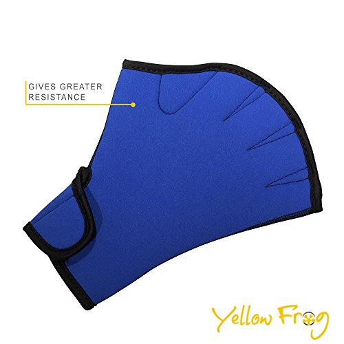 Yellow Frog Swimming – Weight Lifting Gloves