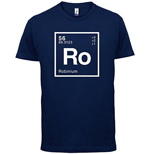 Robin Periodensystem - Herren T-Shirt - 13 Farben Navy