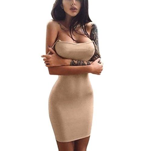 various colors 5a4a1 0eabb ღ Vestito da donna Elegante ღ,feiXIANG® Estate Sexy Una linea mini abito  senza maniche stampa spiaggia Abiti Cocktail Danza Vestiti lungo maxi Abito  ...