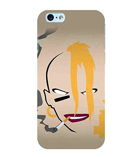 CHAPLOOS For Apple iPhone 6s Plus :: Apple iPhone 6s+ woman Printed Cell Phone Cases, art Mobile Phone Cases ( Cell Phone Accessories ), crazy Designer Art Pouch Pouches Covers, lipstick Customized Cases & Covers, cigarettes Smart Phone Covers , Phone Back Case Covers By Cover Dunia