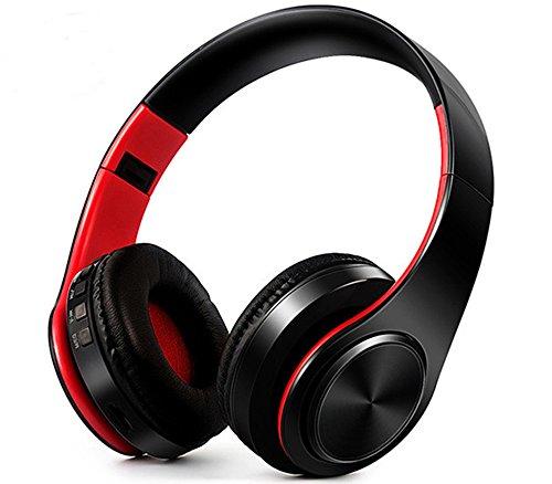 Casque Bluetooth, Possec Sans fil Pliable Casque à écouteurs Earbuds Soutien Mains libres Carte Micro SD Avec Microphone pour Téléphone portable Tablet PC iPhones iPad