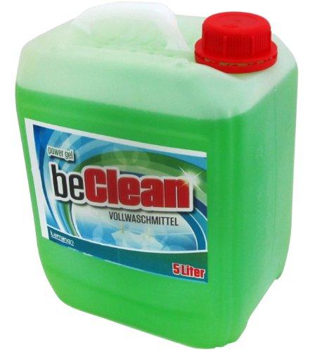 "Flüssigwaschmittel ""beclean Power Gel"", 5 Liter Kanister"