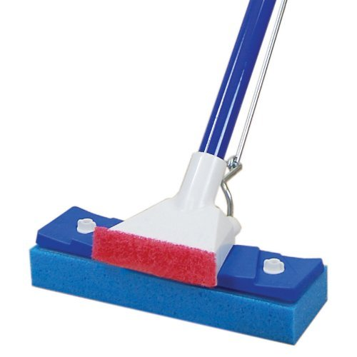 Quickie Automatic Squeezing Sponge Mop by Quickie