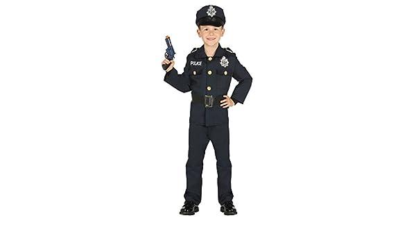 Costume da poliziotto agente di polizia americano bambino  Amazon.it   Giochi e giocattoli 0ec910268f0d