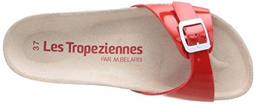 Les Tropéziennes par M. Belarbi Pornic, Damen Clogs & Pantoletten Rot - Rot (Lack / Rot)