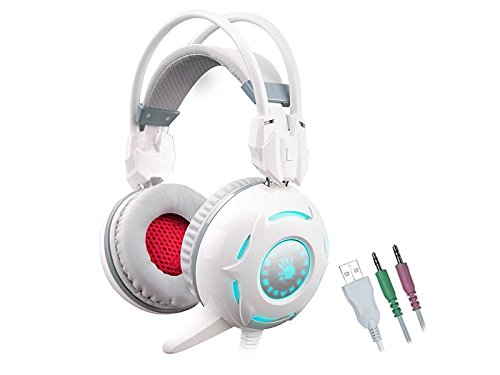 A4tech Bloody G300 Binaural Kopfband Schwarz - Rot Headset, G300