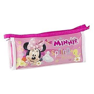 Estuche escolar Minnie Mouse (25×4,5×10,5 cm) rosa