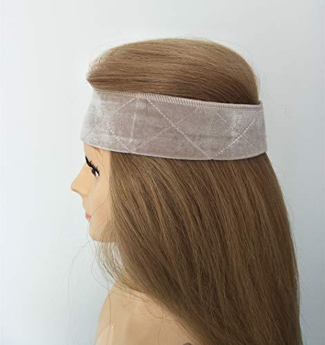 ke Stirnband Wig Grip Verstellbar gute Elastizität Bequem und weich Perückenband rutschfest für Frau Beige ()