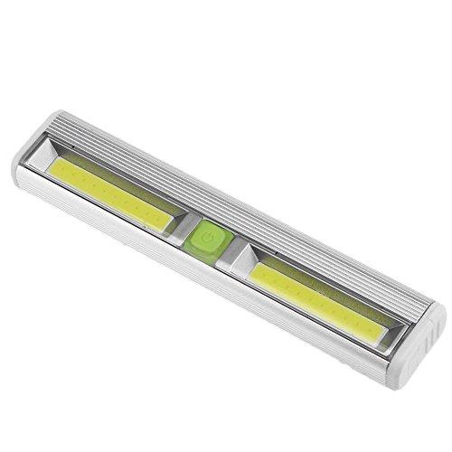 Starnearby Nachtlicht mit Bewegungsmelder, 20 LED 2 COB Home Nacht Schrank Lampe Kleiderschrank Treppenlicht w/Magnetic Silber -